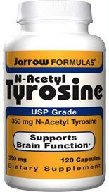 N-Acetyl Tyrosine (350 mg 120 capsules) Jarrow Formulas