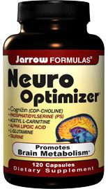 Neuro Optimizer (120 capsules) Jarrow Formulas