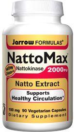 NattoMax (100 mg 90 capsules) Jarrow Formulas