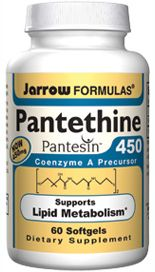 Pantethine (450 mg 60 softgels) Jarrow Formulas