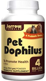 Pet Dophilus Powder (2.5 oz) Jarrow Formulas