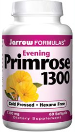 Evening Primrose Oil (1300 mg 60 softgels) Jarrow Formulas