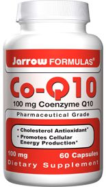 Co-Q10 (100 mg 60 capsules) Jarrow Formulas
