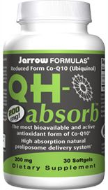 QH-Absorb  (200 mg 30 softgels) Jarrow Formulas