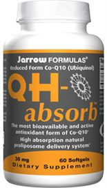 QH-Absorb  (30 mg 60 softgels) Jarrow Formulas