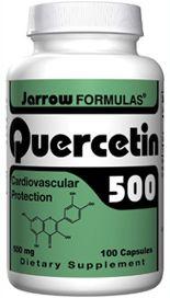 Quercetin 500 (500 mg 100 capsules) Jarrow Formulas