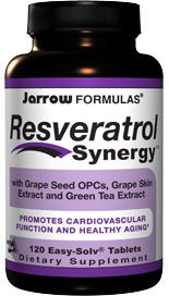 Resveratrol Synergy  (120 tablets) Jarrow Formulas