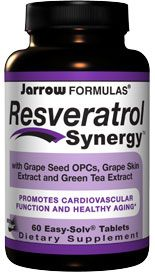 Resveratrol Synergy (60 tablets) Jarrow Formulas