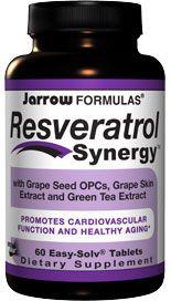Resveratrol Synergy (60 tablets) Jarrow Formulas