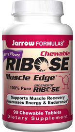Ribose (90 chewable tablets) Jarrow Formulas