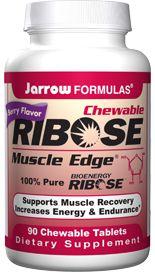 Ribose (90 chewable tablets) Jarrow Formulas