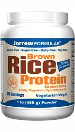 Rice Protein (1 lb) Jarrow Formulas