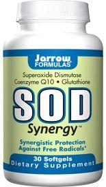 SOD Synergy (30 softgels) Jarrow Formulas