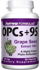 OPC plus 95 (100 mg 50 capsules) Jarrow Formulas