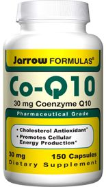 Co-Q10 (30 mg 150 capsules) Jarrow Formulas