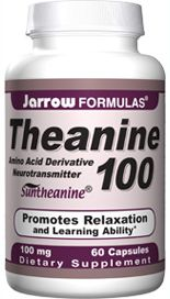 Theanine (100 mg 60 capsules) Jarrow Formulas