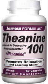 Theanine (100 mg 60 capsules) Jarrow Formulas