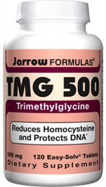 TMG-500 (500 mg 120 tablets) Jarrow Formulas