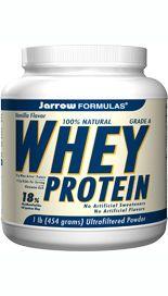 Whey Protein  Vanilla  (16 oz) Jarrow Formulas