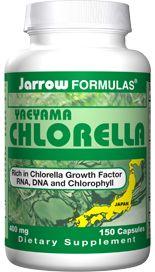 Yaeyama Chlorella (400 mg 150 capsules) Jarrow Formulas