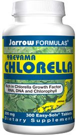 Yaeyama Chlorella (200 mg 300 tablets) Jarrow Formulas