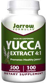 Yucca Extrac (500 mg 100 capsules) Jarrow Formulas