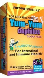 Yum Yum Dophilus (60 tablets)* Jarrow Formulas