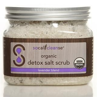 Organic Detox Salt Scrub Lavender (16 oz.)* SoCal Cleanse