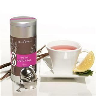 Organic Detox Tea Hibiscus (3 oz)* SoCal Cleanse