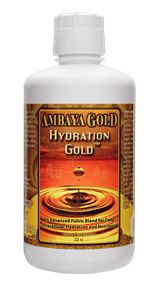 Hydration Gold (8oz) Ambaya Gold
