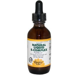 Natural Liquid E-Complex (2 oz) Country Life