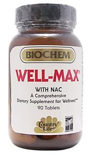 Well-Max with NAC (90 tablets) Country Life