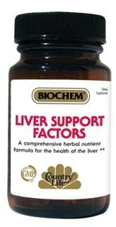 Liver Support Factors (50 tablets) Country Life