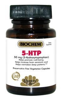 5-HTP 50mg 5-HydroxyTryptophan (50 Capsule - Veg) Country Life