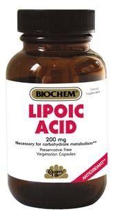 Lipoic Acid 200mg Vegetarian Capsules (50 Caps) Country Life