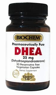 DHEA 25 mg(90 Capsule - Veg) Country Life