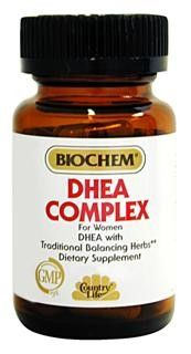 DHEA Complex For Woman (60 Capsule - Veg) Country Life