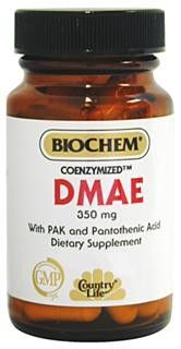 Coenzymized DMAE 350mg (50 Capsule - Veg) Country Life