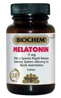 Melatonin Rapid Release 1 mg (120 tablets) Country Life