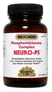 Neuro-PS Phosphatidylserine (60 softgels) Country Life