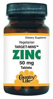 Target Mins Zinc 50mg (90 tablets) Country Life
