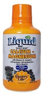 Liquid Calcium-Magnesium (16 oz) Country Life