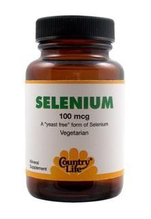 Selenium 100mcg (180 tablets) Country Life
