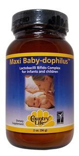 Maxi Baby-Dophilus (2 oz powder) Country Life