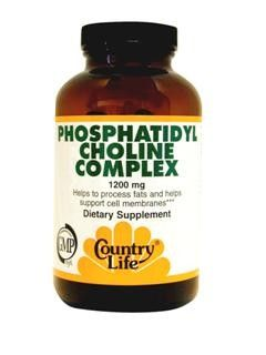 Phosphatidyl Choline Complex (1200 mg 100 Softgel) Country Life