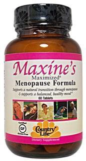Maxine's Maximized Menopause Formula (60 Tablet) Country Life