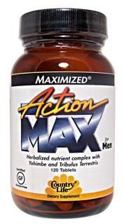 Action Max For Men (120 Tablet) Country Life