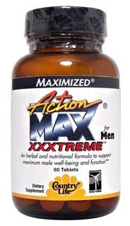 Action Max XXXtreme for Men (60 Tablet) Country Life