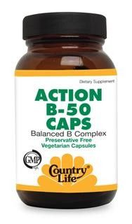 Action B-50 Caps (50 vcaps) Country Life