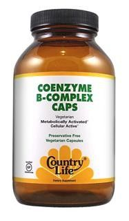 Coenzyme B-Complex Caps (30 Capsule) Country Life